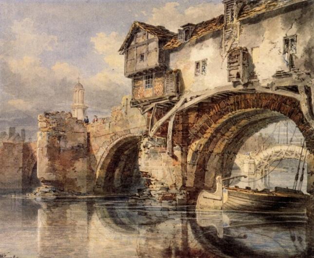 Puente galés en Shrewsbury
