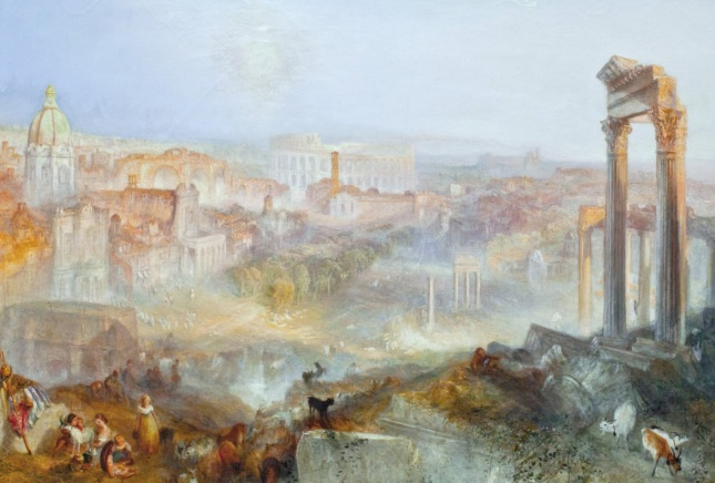 Roma moderna, Campo Vaccino