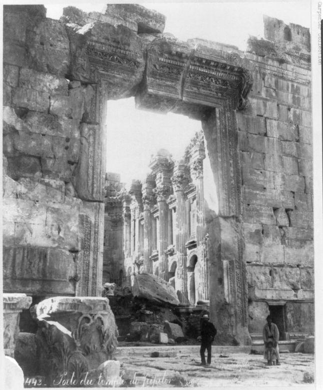 Templo de Baco en Baalbek (1890 - 1923)