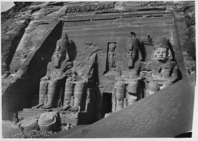 Templo de Ramsés II en Abu Simbel (1906)