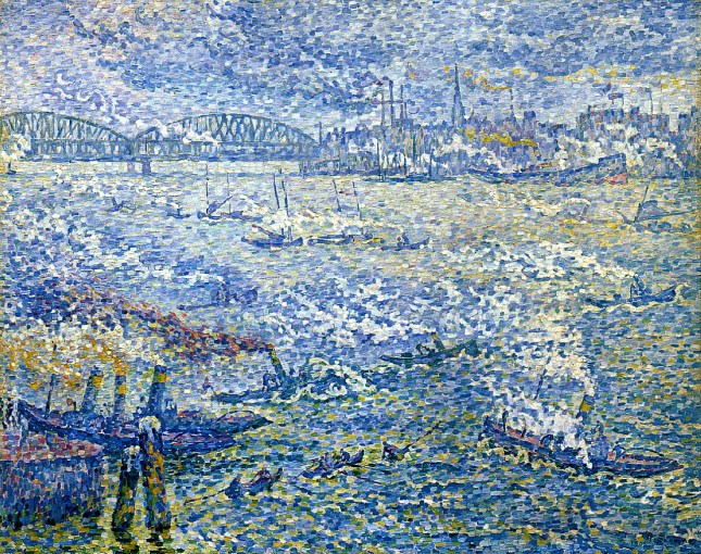 Barcos de vapor, Rotterdam