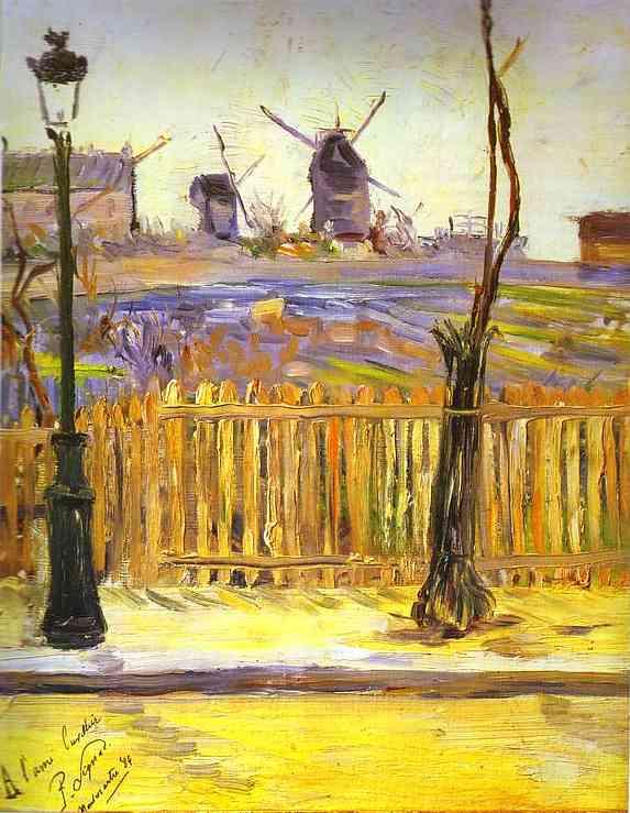 Molinos en Montmartre