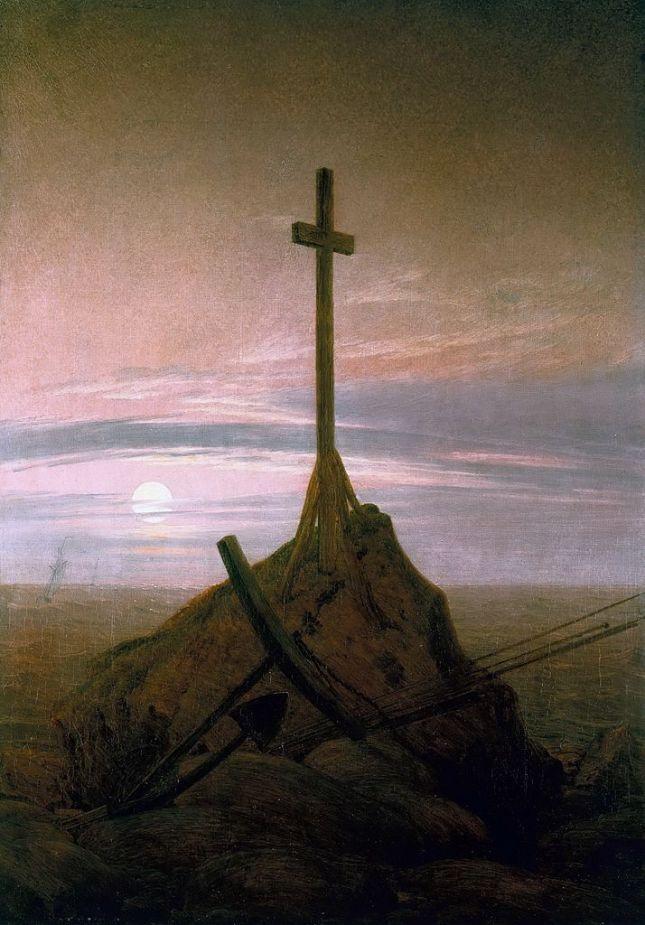 Cruz en el Mar Báltico