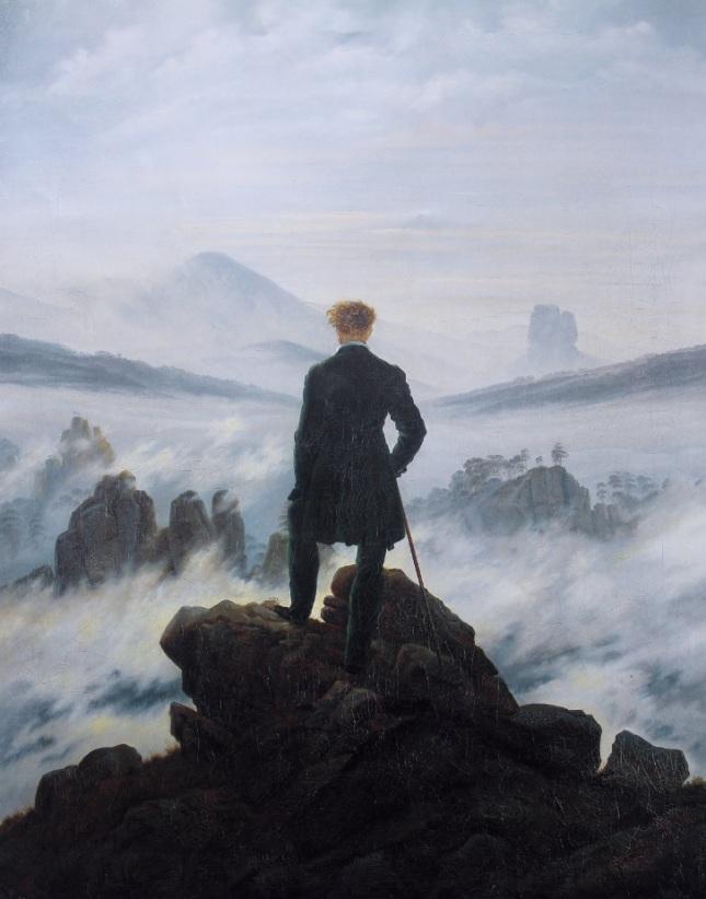 Viajero ante el mar de niebla