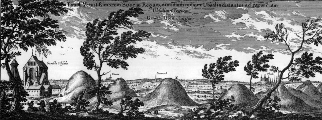 Gamla Uppsala (Circa 1700)