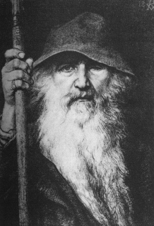 Georg von Rosen - Odín el vagabundo