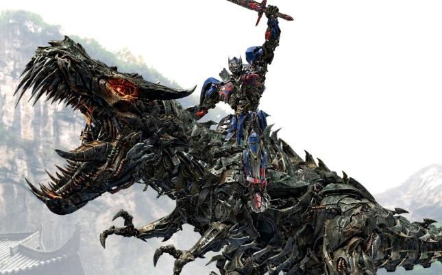 Grimlock & Optimus Prime