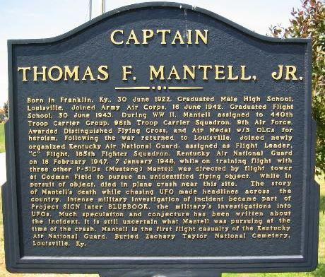 Memorial Thomas Mantell
