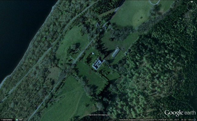 Boleskine House Google Earth