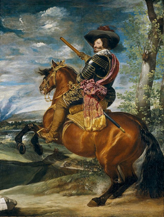 El Conde-Duque de Olivares a caballo