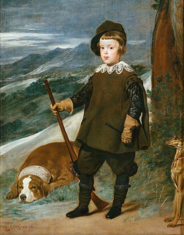 El Príncipe Baltasar Carlos cazador