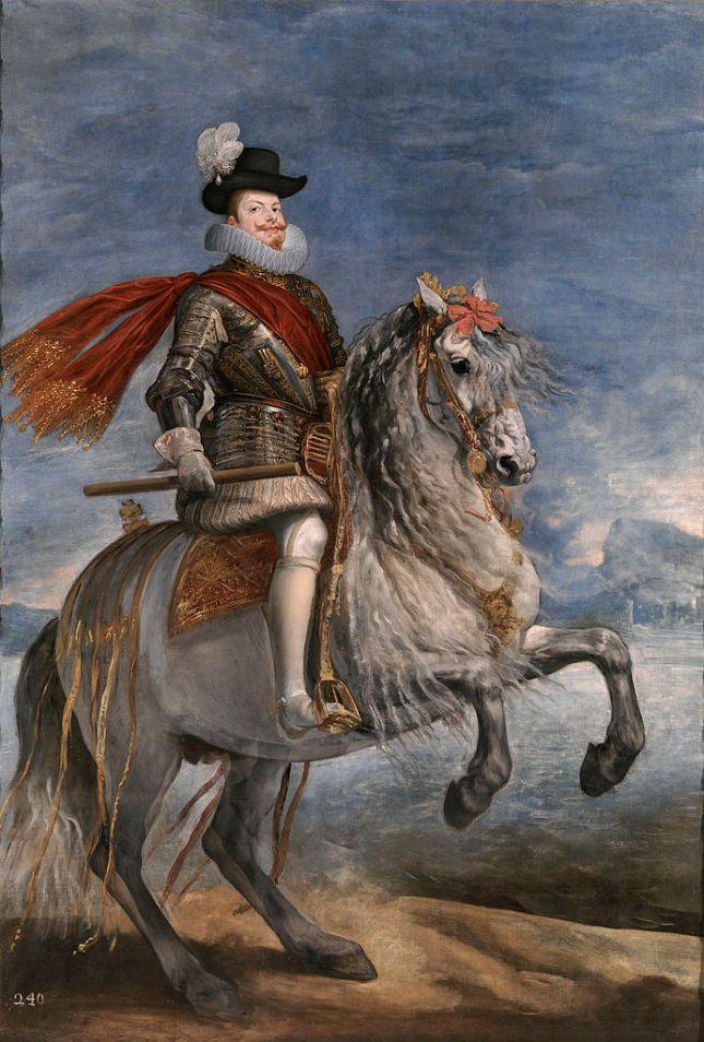 Felipe III a caballo
