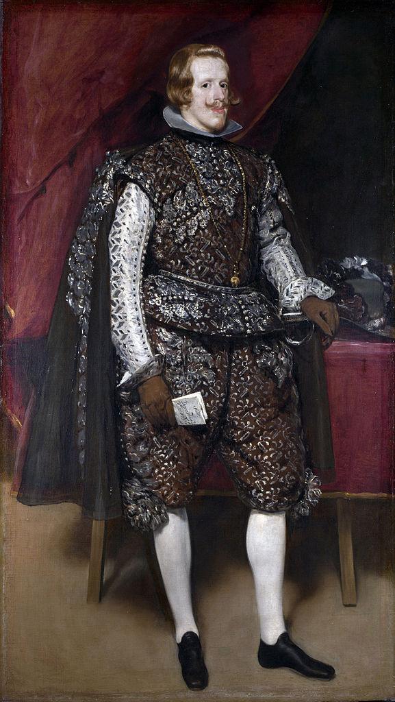 Felipe IV de castaño y plata