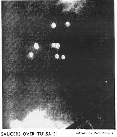 OVNI Tulsa 12 Julio 1947