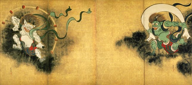 Ogata Kōrin - Dios del Viento, Dios del Trueno