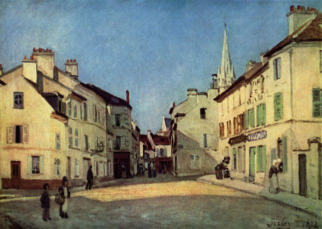 Calle de la Chaussée en Argenteuil
