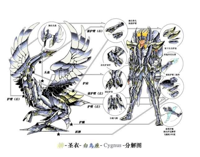 Hyōga de Cisne Armadura Divina