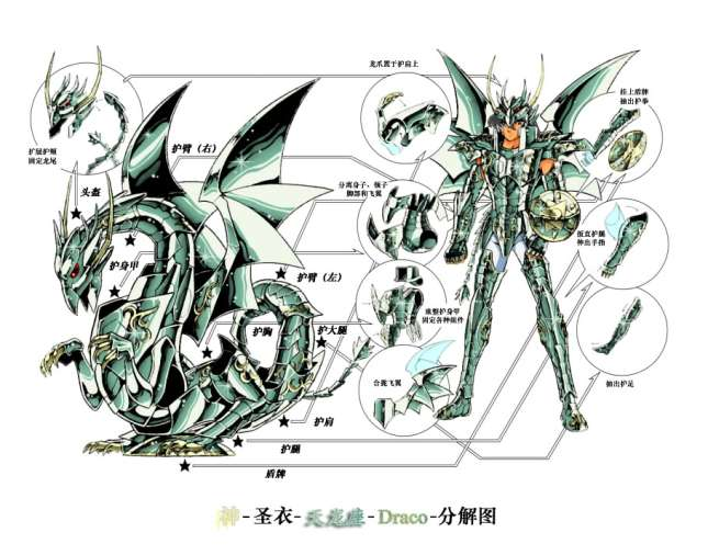 Shiryū de Dragón Armadura Divina
