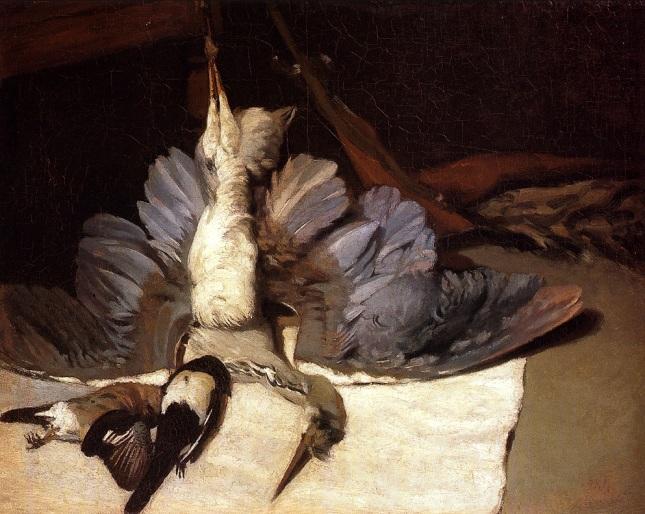 Garza con alas desplegadas