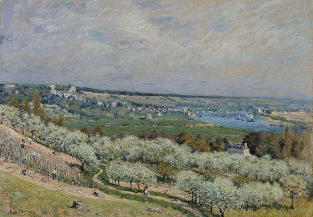 La terraza de Saint-Germain en primavera