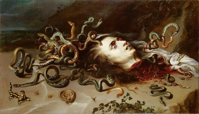 Peter Paul Rubens - Cabeza de Medusa