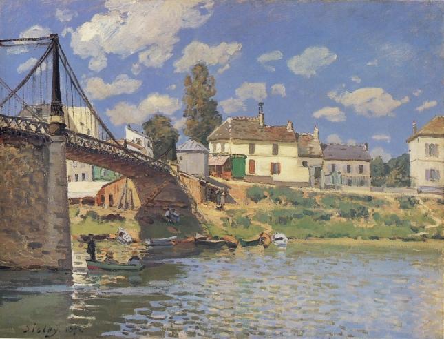 Puente en Villeneuve-la-Garenne
