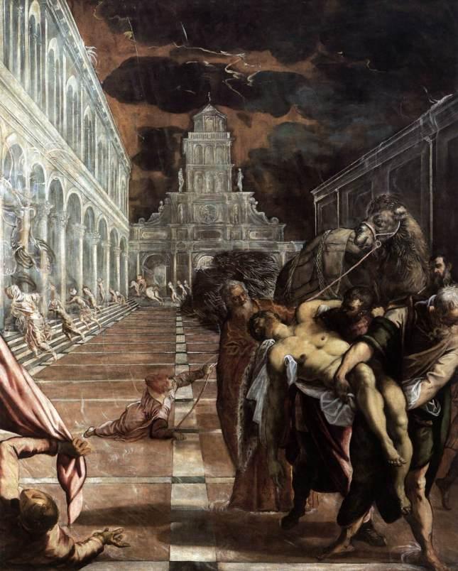 Traslación del cuerpo de San Marcos