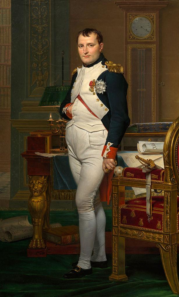 retrato-de-napoleon-en-su-gabinete-de-trabajo