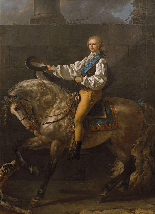 retrato-ecuestre-del-conde-stanislas-potocki
