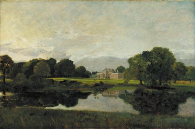 Malvern Hall, Warwickshire 1809 by John Constable 1776-1837