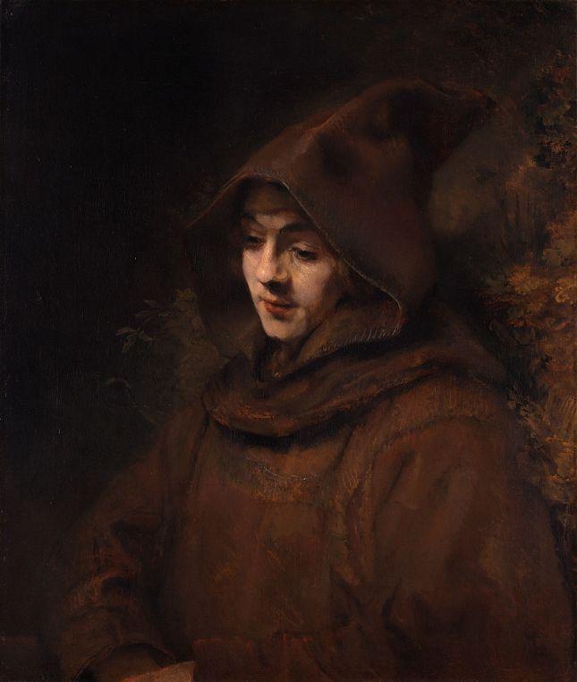 titus-hijo-de-rembrandt-vestido-como-un-monje