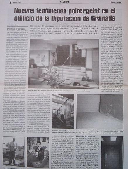 Artículo Diputación de Granada