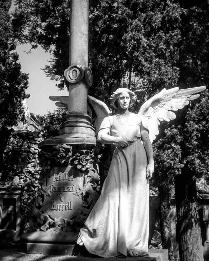 Ángel Cementerio de Montjuic