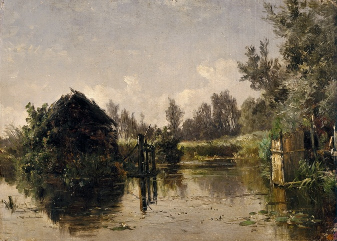 Canal abandonado, Vriesland