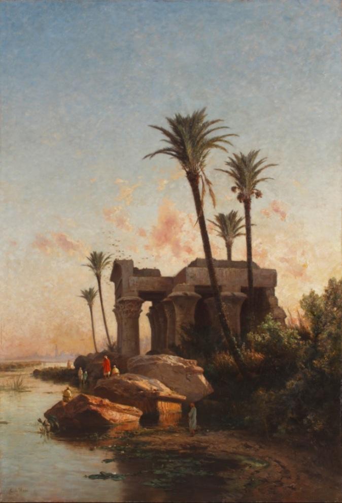 Paisaje egipcio