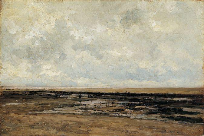 Playa de Villerville, Normandía