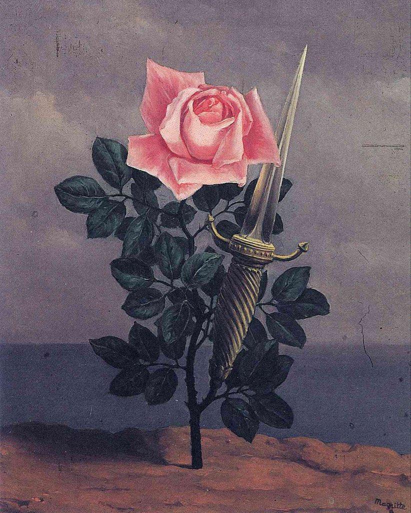 René Magritte - El golpe al corazón