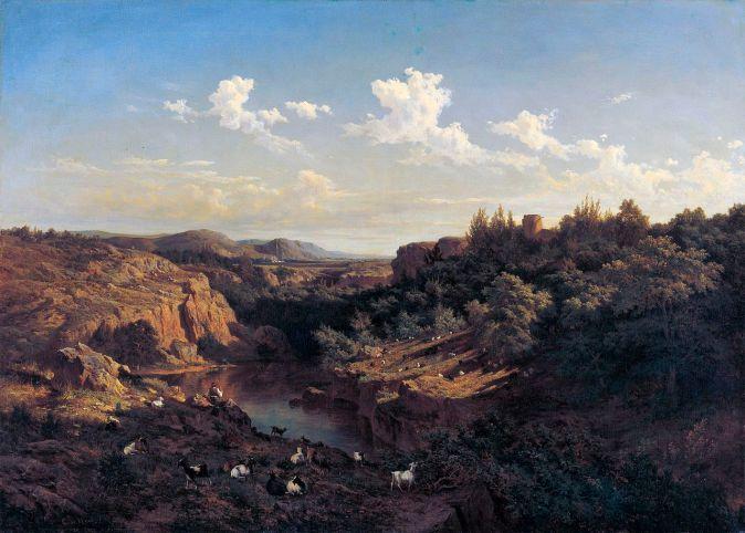 Vista del Monasterio de Piedra